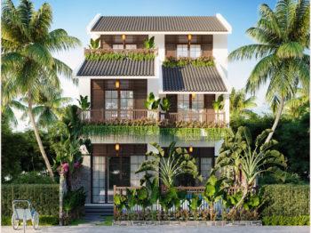 Thiết kế Villa nghỉ dưỡng Hội An